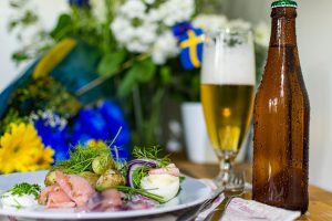 Summer Mat Beer Midsummer Sweden Summer Food